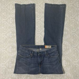 Gap size 6r Long and Lean bootcut jeans